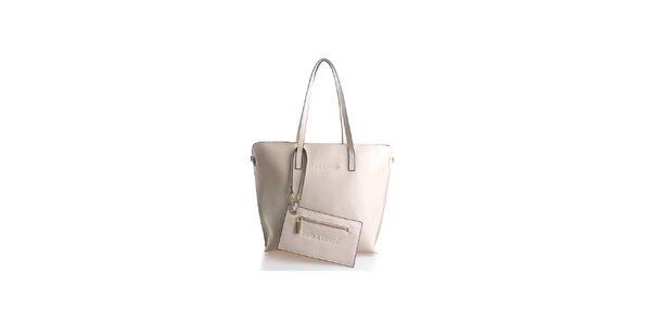 Dámská světle béžová kabelka Belle & Bloom