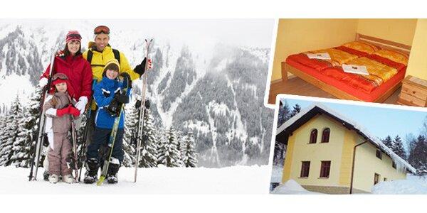 Týdenní rodinný zimní pobyt v Krkonoších