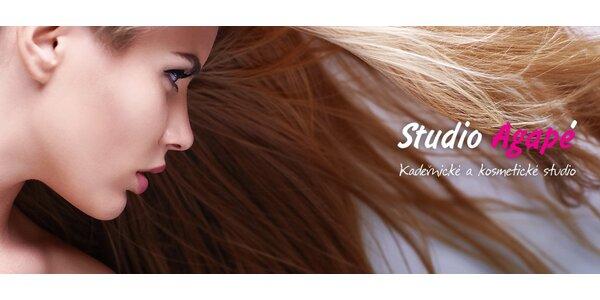Perfektní účes a regenerační péče L'Oréal