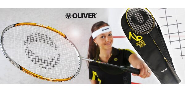 Profi badmintonová raketa OLIVER No Design MMXV