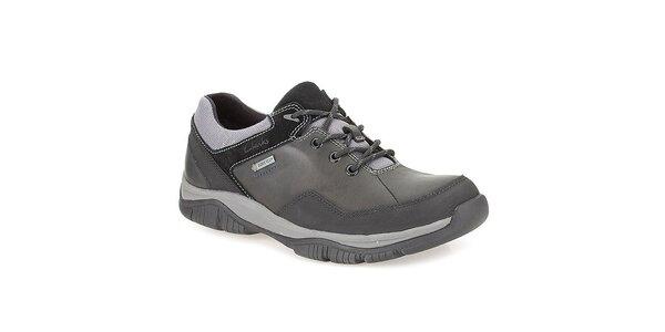 Pánské černé šněrovací boty Clarks