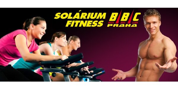 70 Kč za neomezený jednorázový vstup do sportovního klubu BBC Fitness!