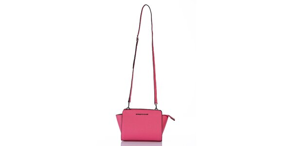 Dámská růžová kabelka na zip Giorgio di Mare