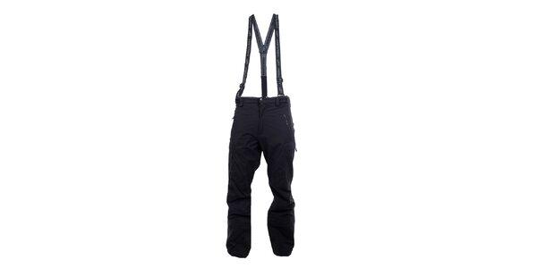 Pánské antracitové outdoorové kalhoty Hannah