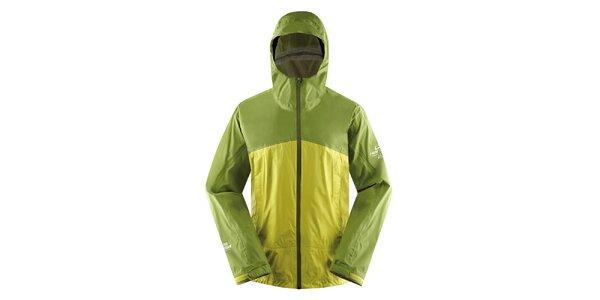 Pánská zeleno-žlutá lehká bunda Hannah