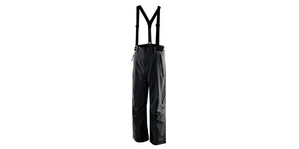 Pánské antracitové lyžařské kalhoty s kšandami Hannah