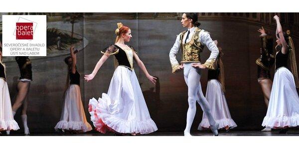 """99 Kč za vstupenku na baletní představení """"Don Quijote""""!"""