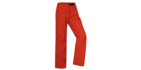 Dámské červené kalhoty Hannah