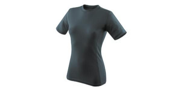 Dámské šedé funkční tričko s krátkým rukávem Hannah