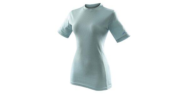 Dámské světle modré funkční tričko s krátkým rukávem Hannah
