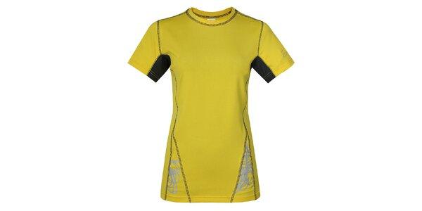 Dámské žluté funkční tričko Hannah