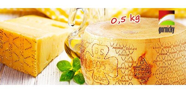 0,5 kg lahodného italského sýra Grana Padano