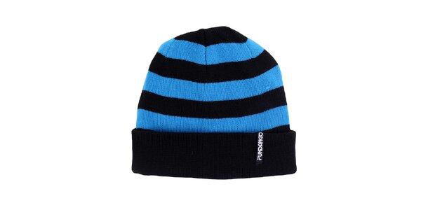 Pánská modročerná čepice Fundango