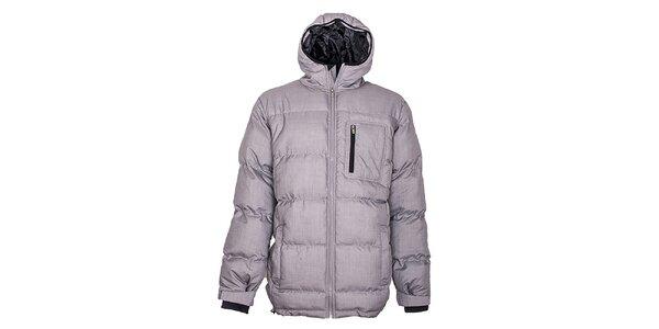Pánská prošívaná bunda Fundango – šedá