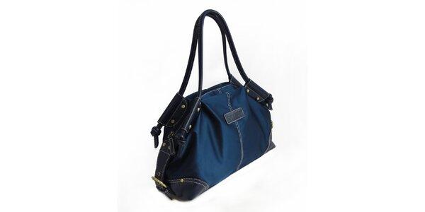 Dámská temně modrá nylonová kabelka Hippyssidy