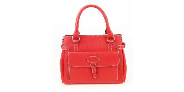 Dámská červená kabelka Hippyssidy