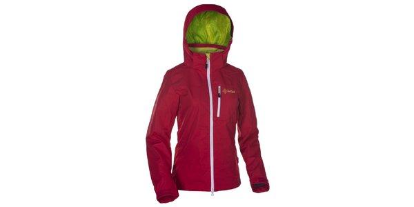 Dámská červená outdoorová bunda Kilpi