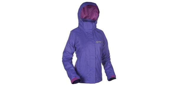 Dámská fialová outdoorová bunda s kapucí Kilpi