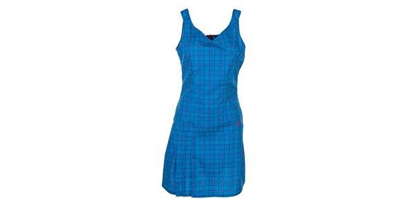 Dámské vzorované modré šaty Kilpi
