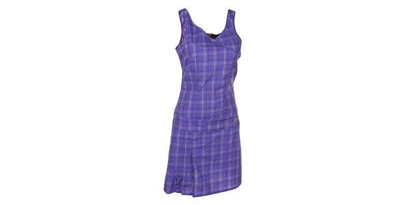 Dámské vzorované fialové šaty Kilpi