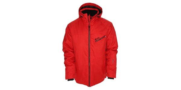 Pánská červená snowboardová bunda Kilpi