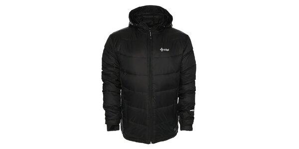 Pánská černá péřová bunda Kilpi