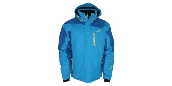 Pánská světle modrá bunda pro lyžaře Kilpi