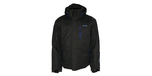 Pánská tmavě šedá bunda pro lyžaře Kilpi