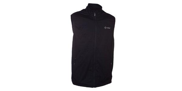 Pánská černá softshellová vesta Kilpi