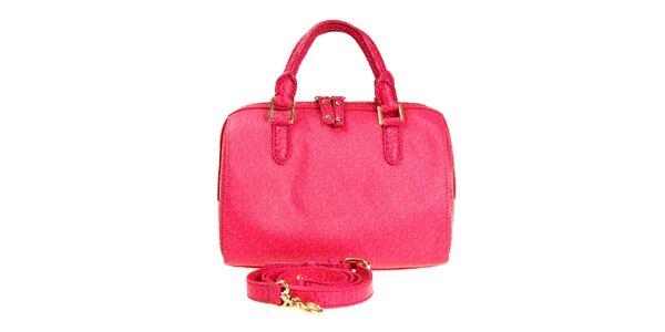 Dámská sytě růžová kabelka DKNY