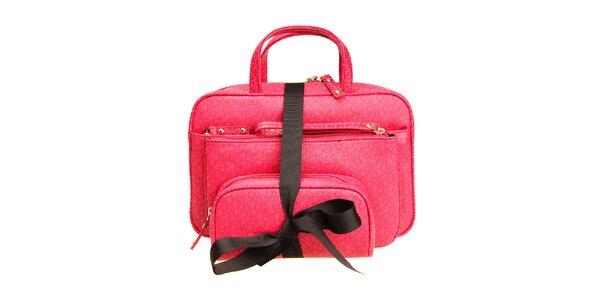 Dámský kosmetický set DKNY - růžový
