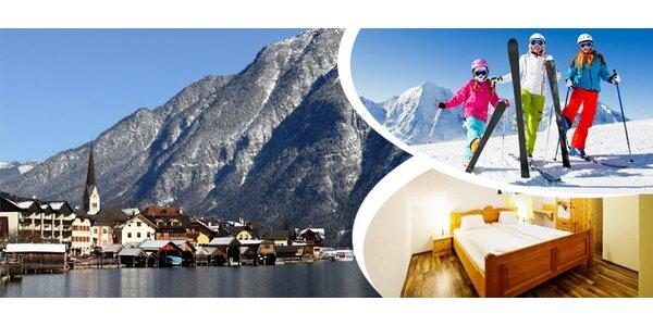 4denní pobyt v rakouských Alpách