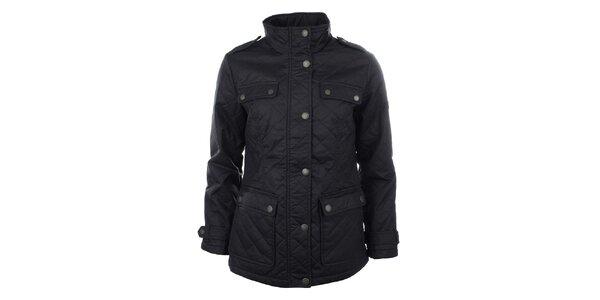 Dámská černá prošívaná bunda s kapsami Timeout
