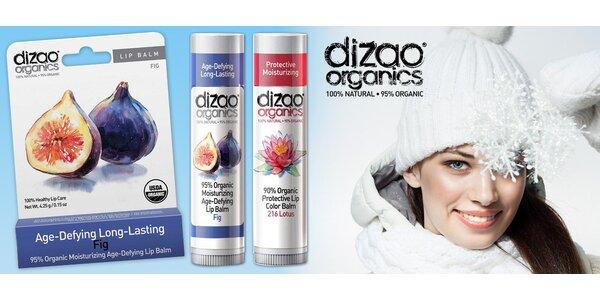 100% přírodní luxusní balzámy na rty Dizao