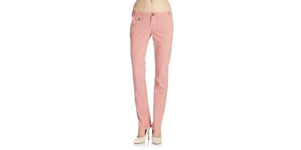 Dámské růžové kalhoty Galvanni