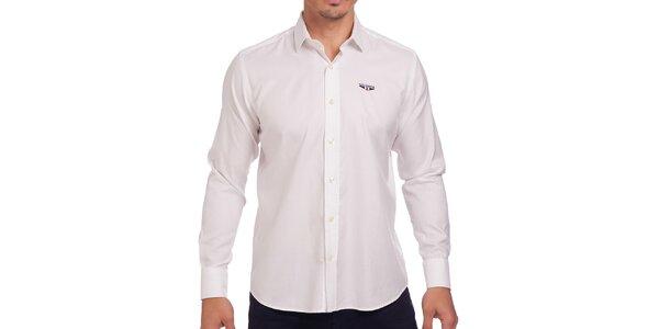 Pánská bílá obleková košile Galvanni