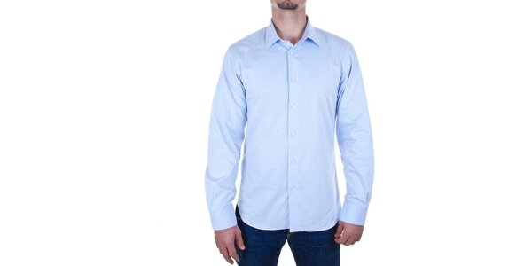 Pánská světle modrá košile Calvin Klein