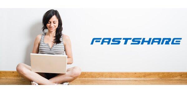 Kredit až 380 GB na FastShare.cz - na hudbu i videa