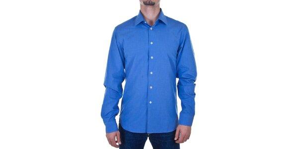 Pánská zářivě modrá košile Calvin Klein