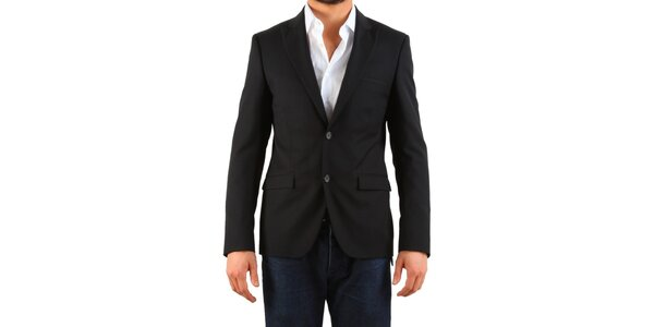 Pánské černé sako Calvin Klein