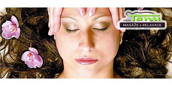 Masáž obličeje s liftingovým účinkem v délce 60 minut + zdarma regenerační…