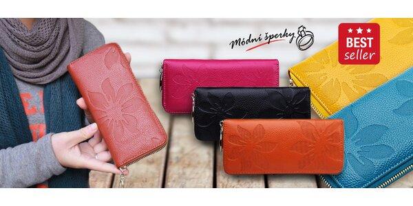 Dámské peněženky z pravé kůže
