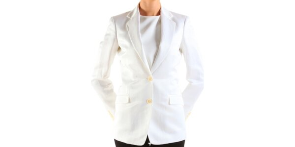 Dámské bílé sako Calvin Klein