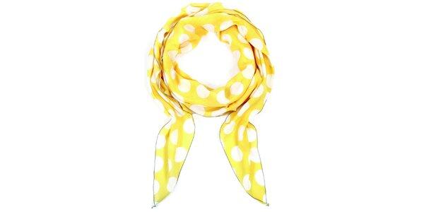 Dámský puntíkatý bavlněný šátek Fraas