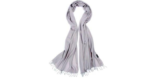 Dámský světle šedý šátek Fraas