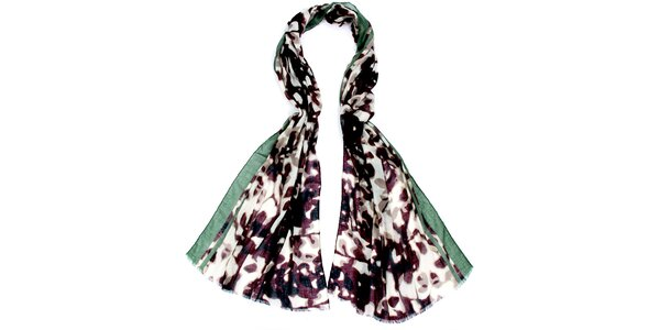Dámský vzorovaný šátek Fraas