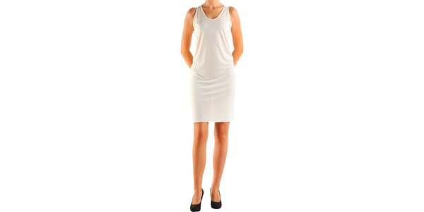 Dámské krémové šaty Calvin Klein
