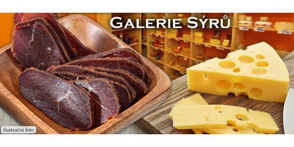 Delikátní holandský sýr či sušená panenka