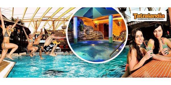 Zábava pro celou rodinu v Aquaparku Tatralandia