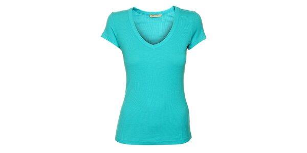 Dámské tyrkysové tričko Phard s krátkým rukávem